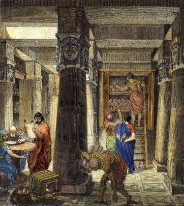La Biblioteca de Alejandría: La destrucción del gran centro del saber de la Antigüedad | Mundo Clásico | Scoop.it