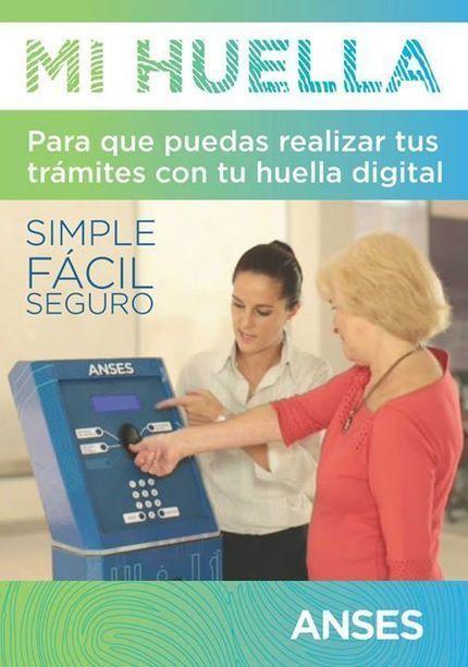 ANSES - Mi Huella, simple, fácil y seguro | Facebook | Biometría | Scoop.it