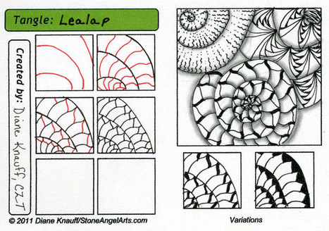 Steps for Lealap | Artistic Line Designs-all free | Scoop.it