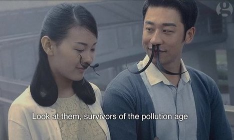 China's pollution problem gets hairy with 'nose-tache' to filter smog | Renewable energy | Scoop.it