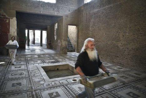 Il Natale di Pompei, Renzi inaugura sei edifici restaurati. Ecco le foto in anteprima | Net-plus-ultra | Scoop.it