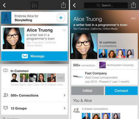 LinkedIn Redesigns User Profiles To Foster Relationship Building - Fast Company | Social Media | Scoop.it