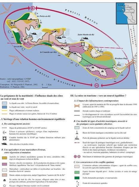 Carte : Ré, île ou presqu'île ? Mutations structurelles et conflits spaciaux (Norois)   Géographie des conflits   Scoop.it