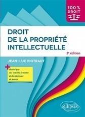 Droit de la propriété intellectuelle | Sélection de nouveaux livres | Scoop.it