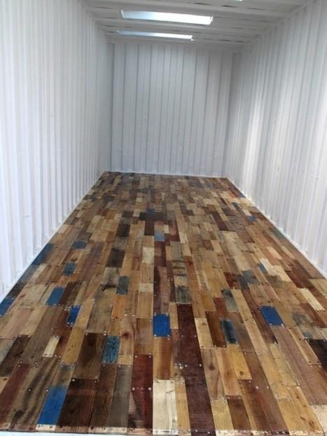 Pallet floor | 1001 Pallets | DIY | Scoop.it