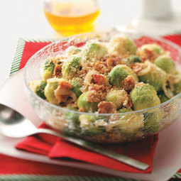 Balsamic-Glazed Brussels Sprouts Recipe | Christmas Goodies | Scoop.it