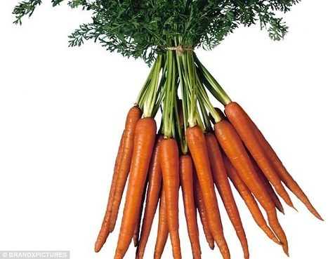 How leafy vegetables and carrots can give you an attractive glow | Kickin' Kickers | Scoop.it