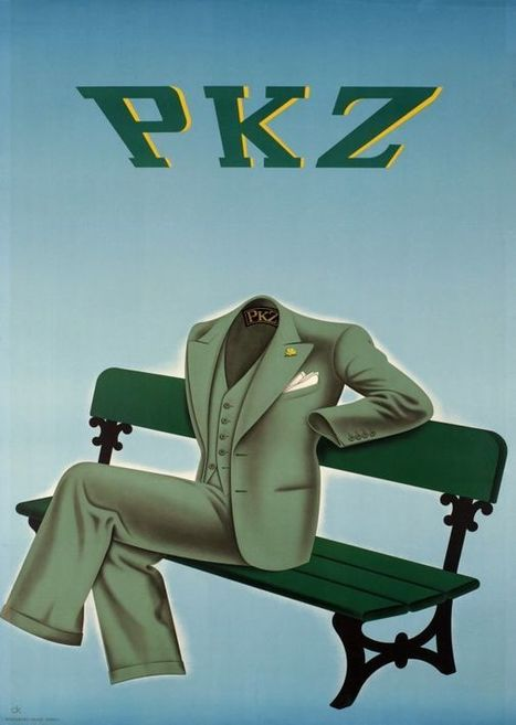 PKZ - Vintage Posters - Galerie 123 - The place to find vintage art | Arte | Scoop.it