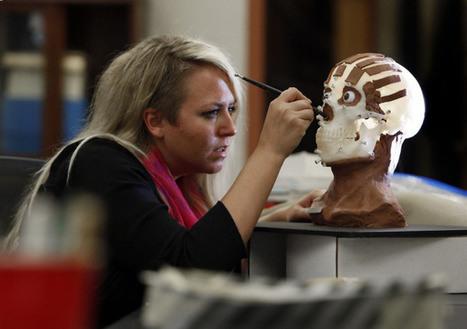 After 2,000 years, a mummy gets her face | Egyptology and Archaeology | Scoop.it