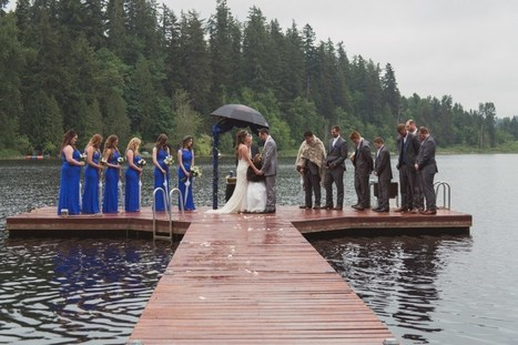 Lakeside Love | Spring Lake Wedding | Renton WA | GSquared Weddings | Weddings | Scoop.it