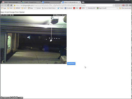Lenny Cunningham - Google+ - Google Apps Script Garage Door Opener | Google Apps Script | Scoop.it