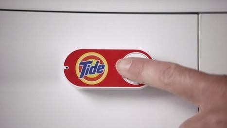 It Wasn't an April Fools' Joke: Amazon Dash Buttons Are Available Now for $5 | MarketingHits | Scoop.it