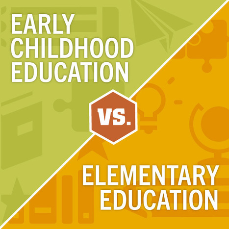 Early Childhood Education vs. Elementary Education: Which Career is Right for You? | education | Scoop.it