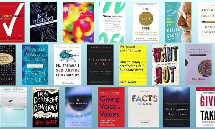 Books worth reading, as recommended by Bill Gates, Susan Cain and more... | Knowledge Broker | Scoop.it