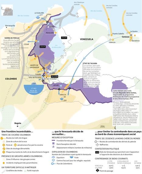 Venezuela-Colombie, une frontière sous haute tension politique | Géopolitique & Cartographie | Scoop.it