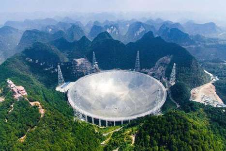 China begins operating world's largest radio telescope | STEM Connections | Scoop.it