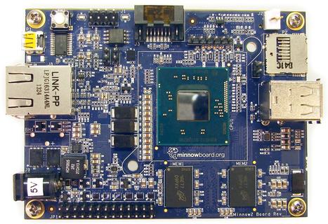 Intel unveils $99 Bay Trail Minnowboard Max to rival Raspberry Pi - Inquirer | Raspberry Pi | Scoop.it