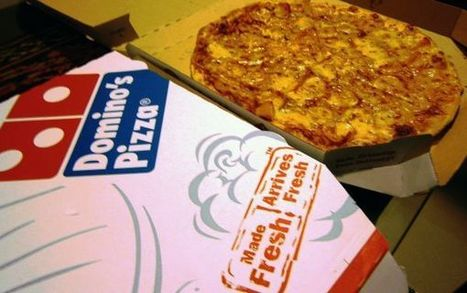 """GM-Free"" #Domino's Caught Selling #GMO-Laden Pizzas #fastfood #lies 