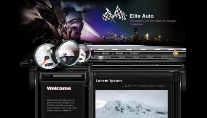 Elite Auto Blogger Theme 2014 | Blogger themes | Scoop.it