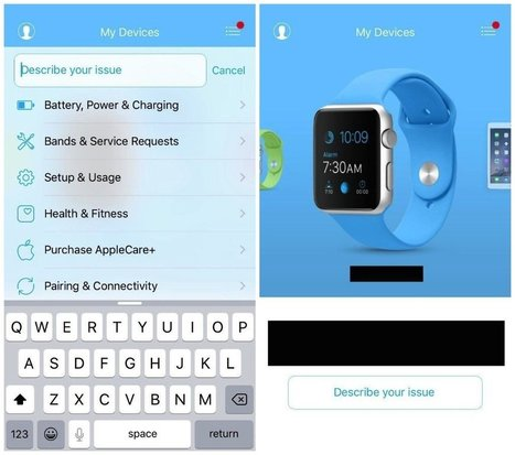 Apple : une app pour diagnostiquer une panne sur iPhone, iPad, Apple Watch etc - iPhoneSoft | Geeks | Scoop.it