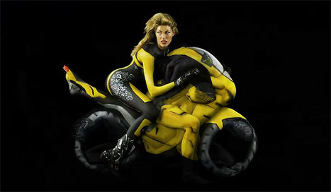 Nude human motorcycles | Stuff.co.nz | Ductalk Ducati News | Scoop.it