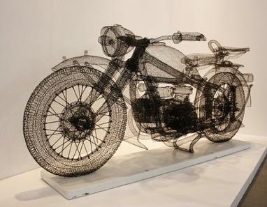 Shi Jindian : 3D Wire Sculptures | DigitAG& journal | Scoop.it
