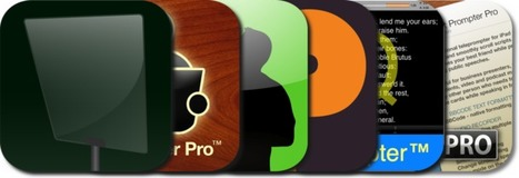 Teleprompter Apps For The iPad: iPad/iPhone Apps AppGuide | mrpbps iDevices | Scoop.it