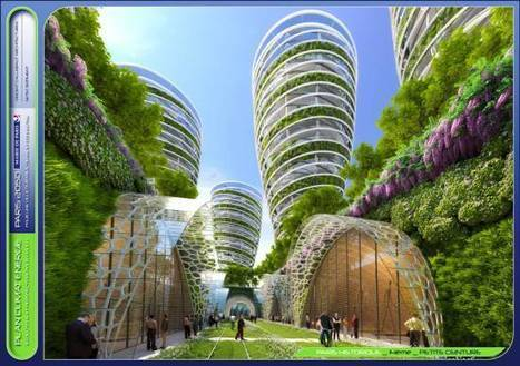L'avenir de Paris passe-il par les gratte-ciel à énergie positive ? - CyberArchi.com (Communiqué de presse)   Résilience climatique des villes   Scoop.it