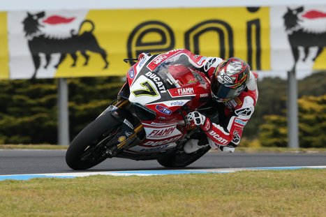 Giugliano and the Ducati Superbike Team conclude today's practice in overall third place | Ductalk Ducati News | Scoop.it