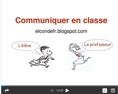El Conde. fr: Comment communiquer en cours de FLE   FLE aux Iles Canaries   Scoop.it