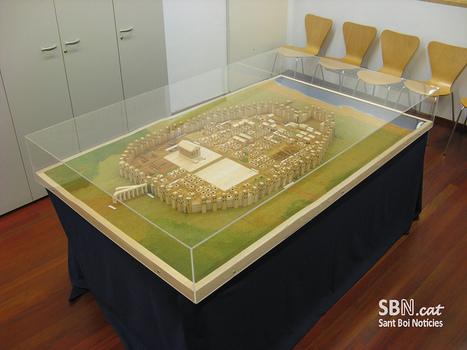 Maqueta romana feta a Sant Boi al MUHBA   Sant Boi Notícies   LVDVS CHIRONIS 3.0   Scoop.it