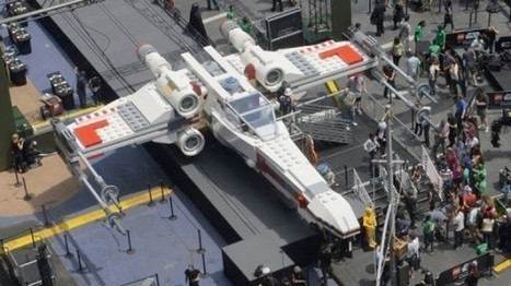 Life-size LEGO Star Wars X-Wing Starfighter arrives to LEGOLAND California, ready for official debut June 13 | Inside the Magic | Cartoons for Kids | Scoop.it