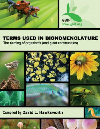 (EN) (PDF) - Terms Used in Bionomenclature: the naming of organisms (and plant communities)   David L. Hawksworth   Glossarissimo!   Scoop.it