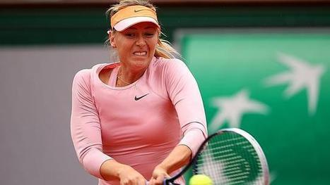 Maria Sharapova breezes into French Open second round after win over Ksenia Pervak   Roland Garros   Scoop.it