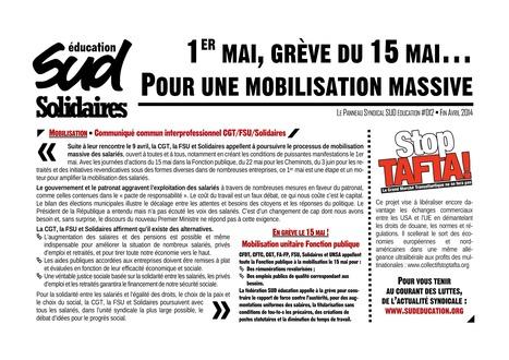 Le Panneau Syndical SUD éducation #012 Fin ... - SUD Education   EDUCATION EN HAITI   Scoop.it