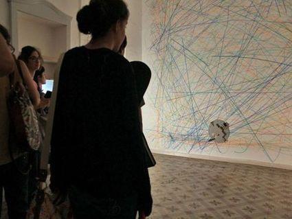 Un robot peintre fait de l'art numérique | Réinventer les musées | Scoop.it