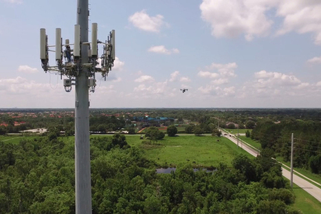AT&T deploys drones for cell tower inspections, network expansion | Business Transformation | Scoop.it