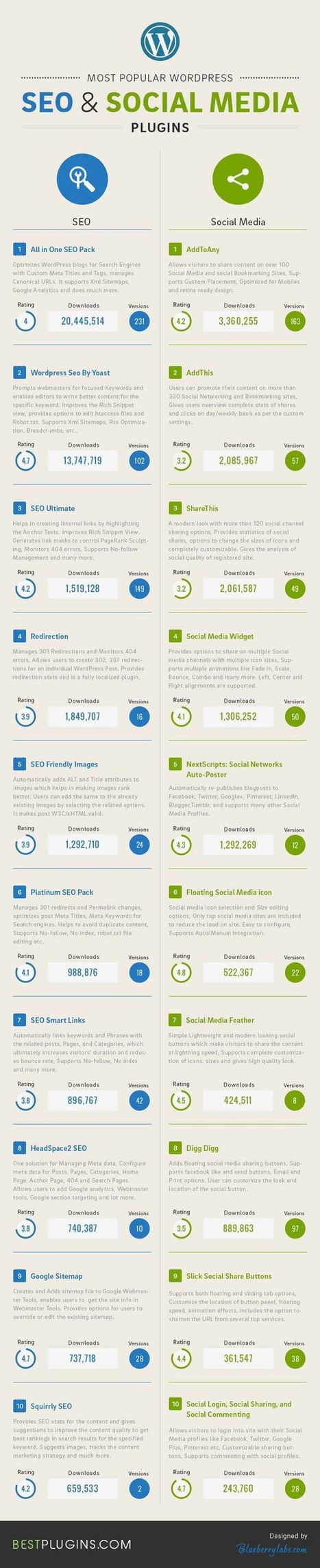 Most popular WordPress SEO and Social Media Plugins | WordPress Google SEO and Social Media | Scoop.it