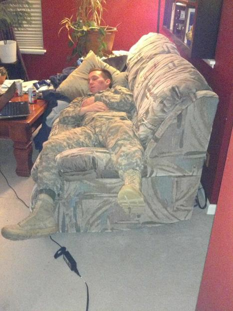 The only surface this camo pattern works with - Imgur | Airsoft Showoffs | Scoop.it