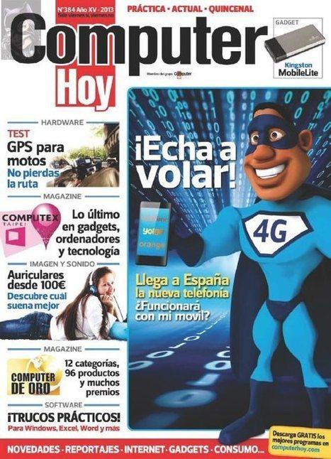 Revista Computer Hoy Nro. 384: ¡Echa a volar! | FreeLibros | Computadoras | Scoop.it