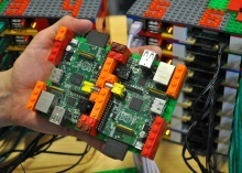 Supercomputer clicked together from Legos and Raspberry Pi's | Raspberry Pi | Scoop.it