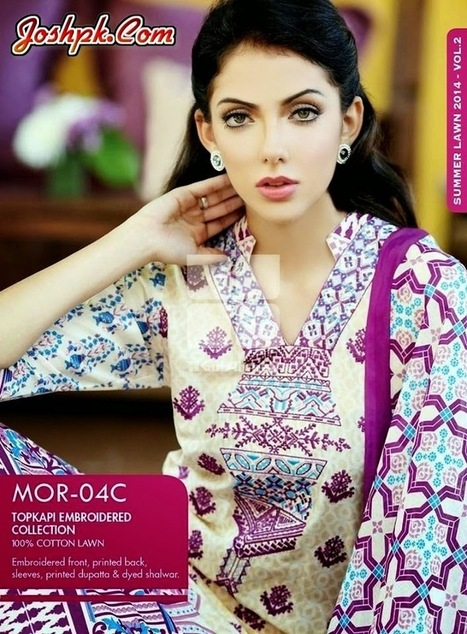 Gul Ahmed Embroidered Lawn Collection 2014 Volume 2   joshpk   Scoop.it
