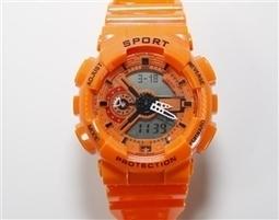 Orange G-Shock Inspired Watch | Hot Geneva inspired watches | Scoop.it