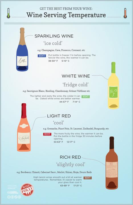 Wine Serving Temperature | Wine cellar | Scoop.it