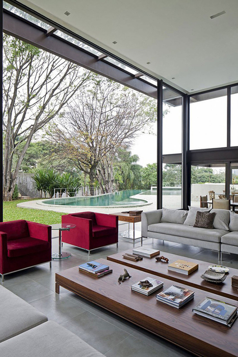 Home in Brazil Embracing Transparence and Open Spaces | Inspired By Design | Scoop.it