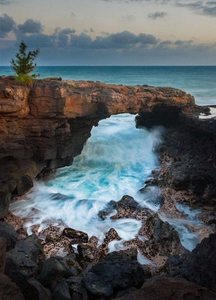 Po'ipu Lava Arch Kauai in Hawaii USA   The Best Places in the World to Travel   Scoop.it