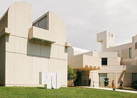 Miró Foundation roof informs typography for 40th anniversary - Dezeen | jmcarrion | Scoop.it