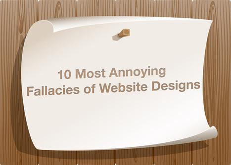 10 Most Annoying Fallacies of Web Designs | Etrafficwebdesign | Web Design Service | Scoop.it