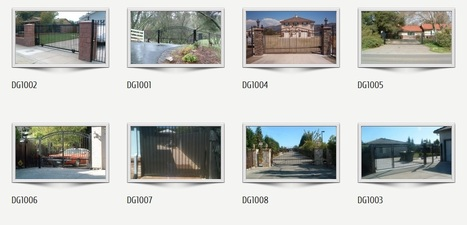 Find latest range of Driveway gates at ironoutlet.com | Custom Courtyard Gates Design with variant styles around Sacramento | Scoop.it