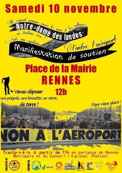 Notre Dame des Landes : résistance civile des Paysans et expulsés ! - blog  parole de citoyens de Stéphanie Muzard Le Moing   résistance civile   Scoop.it